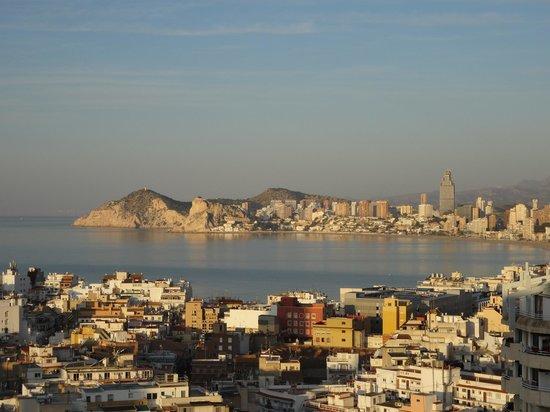 Hotel Madeira Centro: Uitzicht vanop het balkon van onze kamer
