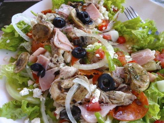 Bruschetta Restaurant: Great Salad