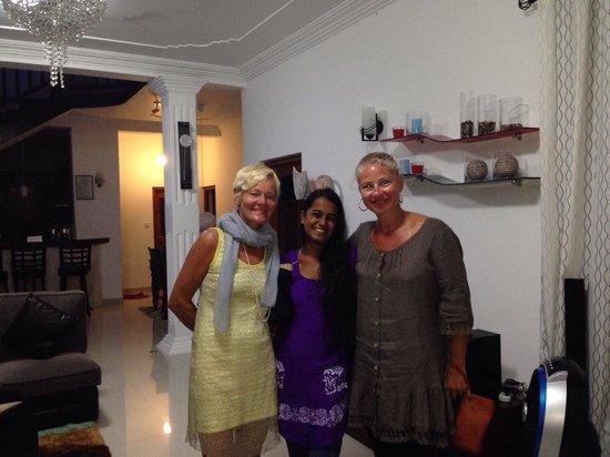 Namo Villa: Happy moment in the villa with charming coordinator