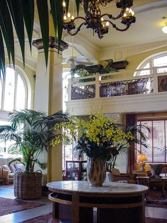 Ashland Springs Hotel: Delightful Victorian Lobby