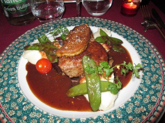Cote Sens: plat du jour au Paradis