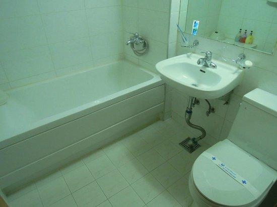 City Park Motel : バスタブ付バスルーム