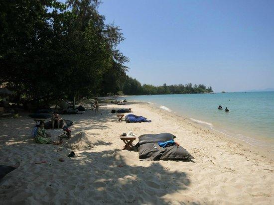 The Tubkaak Krabi Boutique Resort : Beautiful Beach