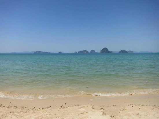 The Tubkaak Krabi Boutique Resort : View From the Beach