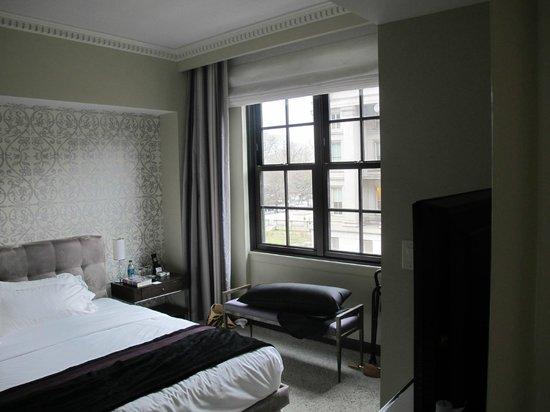 W Washington DC: Wonderful Beds!