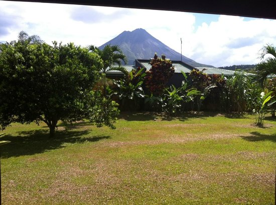 Arenal Manoa Hotel : View from our room