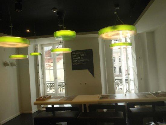 Hotel Gat Rossio: Breakfast Area