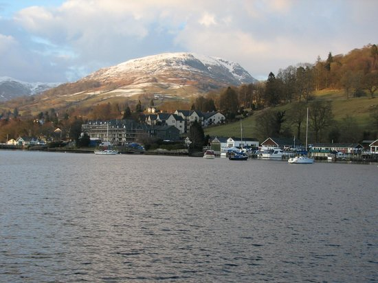 Lake House: View from Lake Windermere towards Ambleside .. and beyond