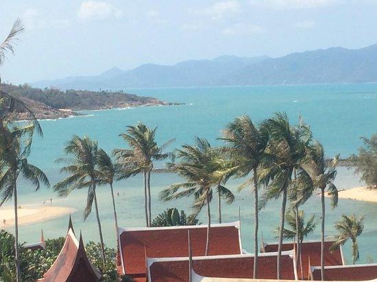 Q Signature Samui Beach Resort : View from the dinning room window