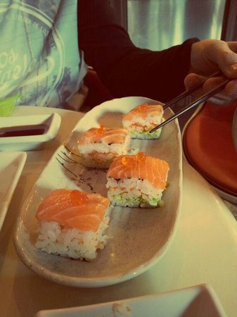 Hoki sushi : cant remember the name of these but delicioius