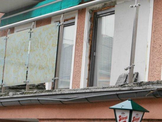 Vogelweiderhof: Balkon gelände