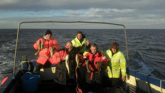 Skylark Boat Fishing Trips Scarborough: .