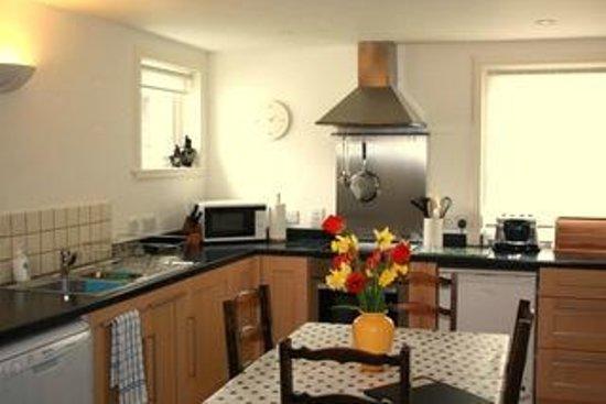 Monach House: Monach Cottage Kitchen