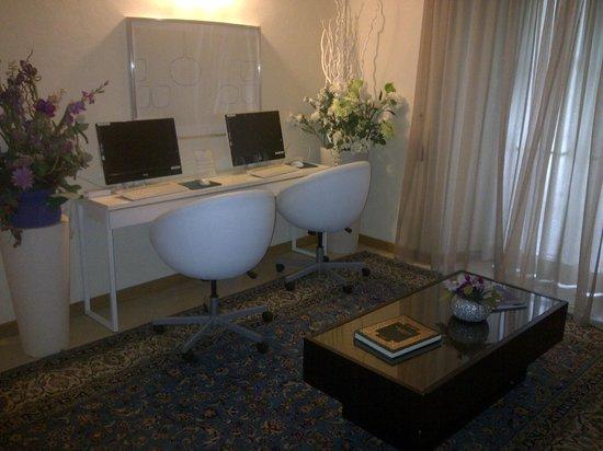 Hotel Hambros il Parco: Postazione internet