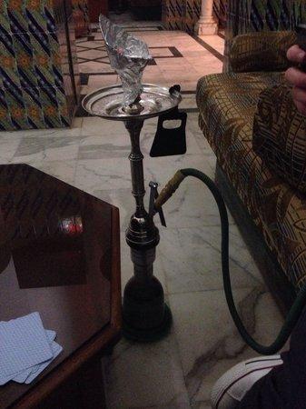 Amir Palace: Shisha in the shisha cafe