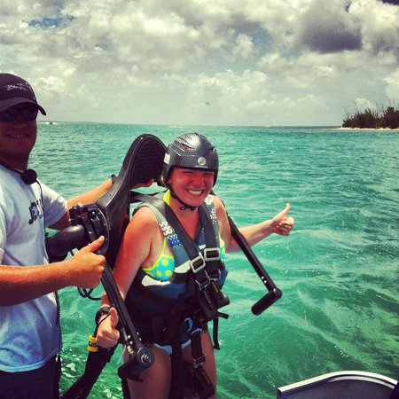 Fury Water Adventures Key West : First attempt