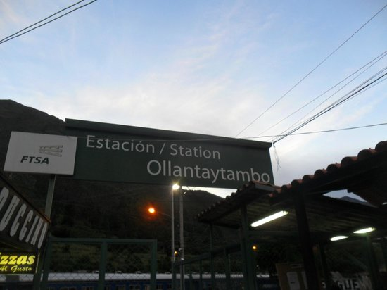 PeruRail - Expedition: Estação de Ollantaytambo
