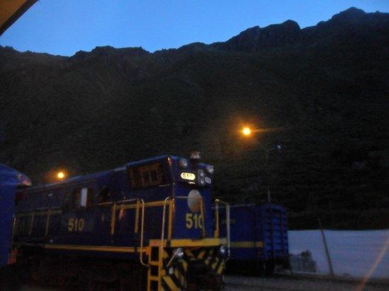 PeruRail - Expedition: Nossa locomotiva