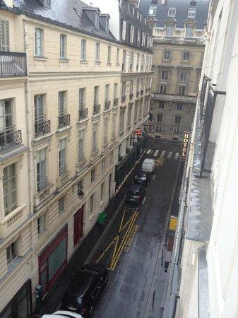 Hotel Icone: Blick aus dem Fenster