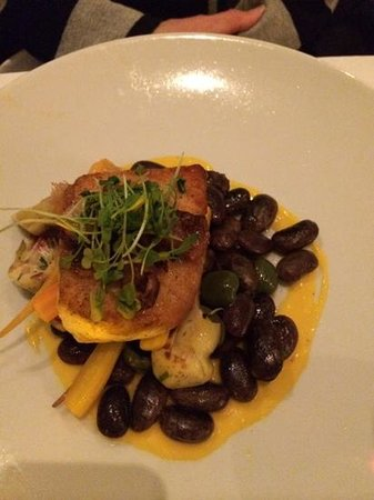 Heathman Restaurant & Bar: scarlet butter beans were fantastic