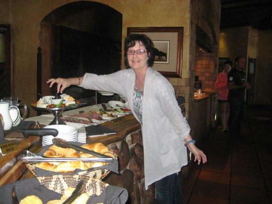 Botlierskop Private Game Reserve: The food was delicious