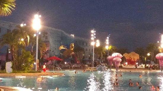 Disney's Art of Animation Resort: Main Pool --- aka The Landing