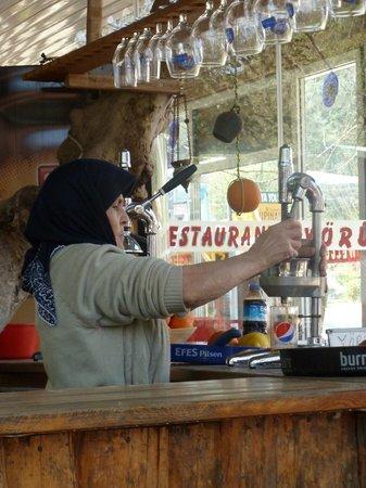 Yoruk Restaurant and Cafe: mama