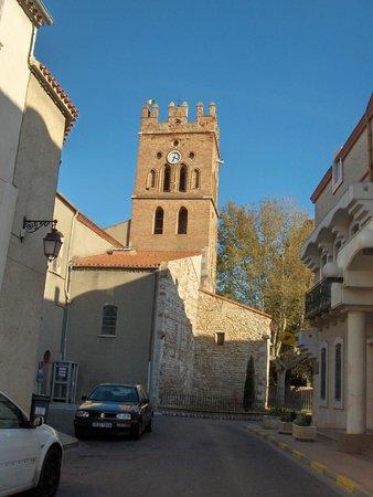 La Villa Clava : Le clocher de l'église de CLAIRA