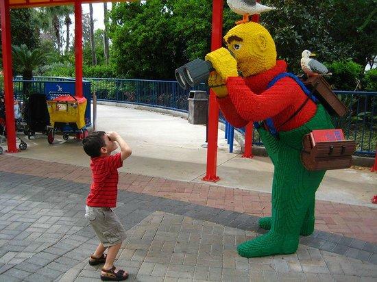 LEGOLAND Florida Resort: Peek a boo, I see you