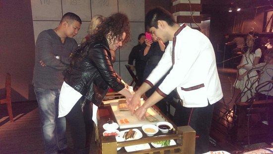 Izumi: Мастер класс в ресторане Изуми