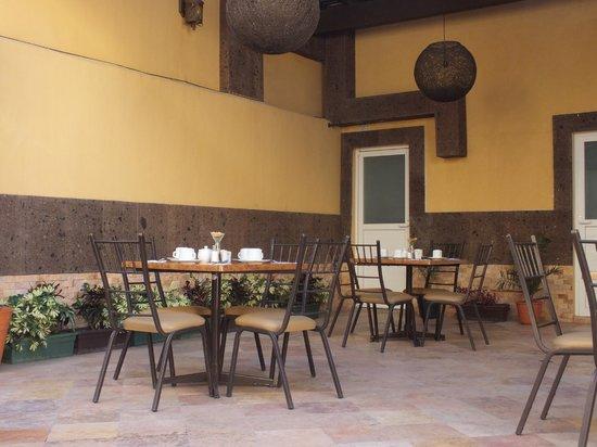 Hotel Rincon Real Suites : Terraza