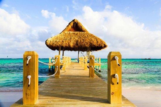 Playa Blanca Restaurant: Gateway to heaven.
