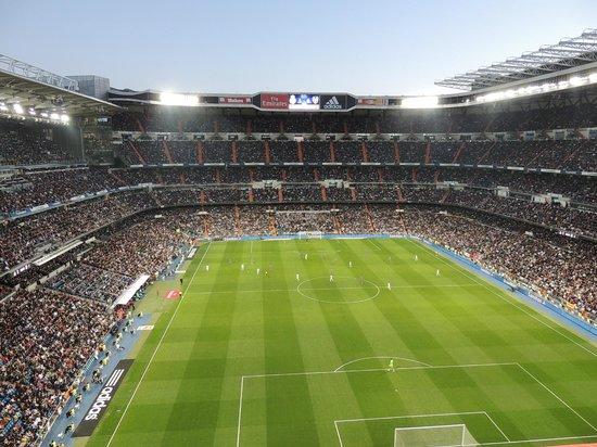 Estadio Santiago Bernabéu: Estádio lotado
