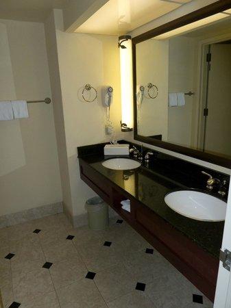 Bathroom Split Between Sink Area With Separate Door To