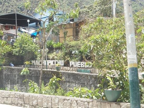 Inkaterra Machu Picchu Pueblo Hotel: Imagen del pueblo