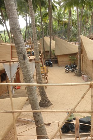 Chattai Beach Huts: The Huts