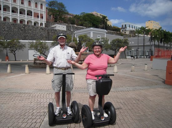 Segway Tours of Puerto Rico: It's really this easy!