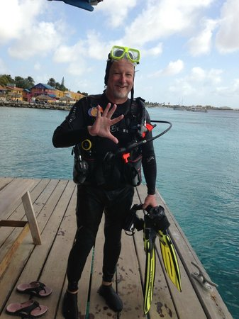 Divi Flamingo Beach Resort and Casino: Diving the House Reef