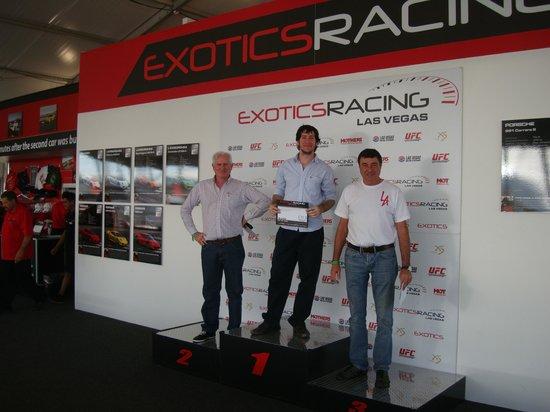 Exotics Racing: PODIO