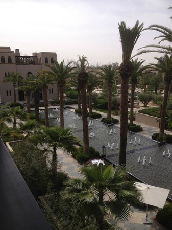 Four Seasons Resort Marrakech: View from room down to the Spa