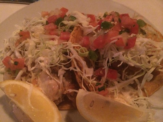 Fried Oyster Tacos! - Picture of Ruben & Ozzy's Oyster Bar, Palm ...