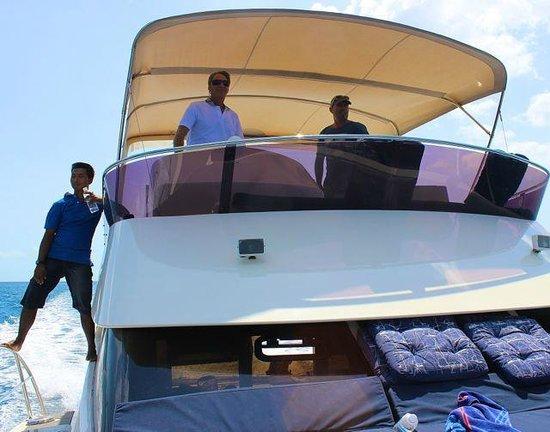 Thai Island Cruising : Die Crew (v.l. Nay, Bernie, Scott)