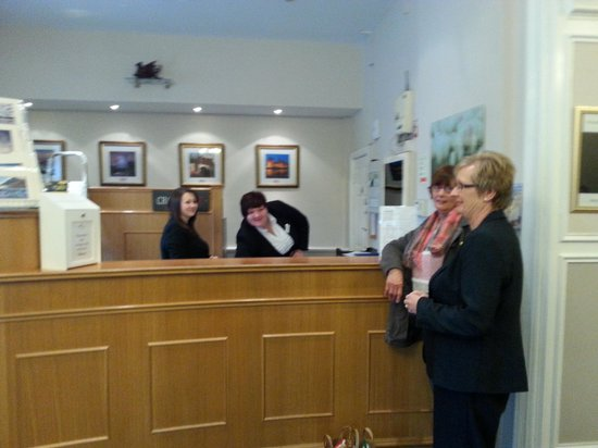The Royal Victoria Hotel Snowdonia: pleasant and welcoming staff
