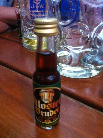 Augustiner-Keller: Liquore tipico