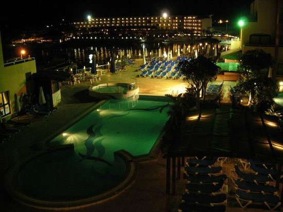 The Riviera Resort & Spa: panorama notturno dalla stanza