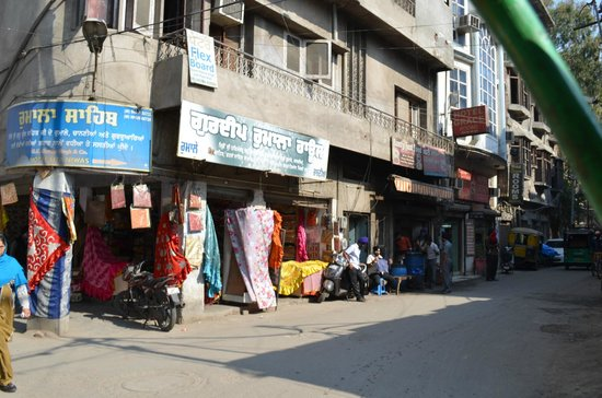 HOTEL AKAAL RESIDENCY : Streets of Amritsar.