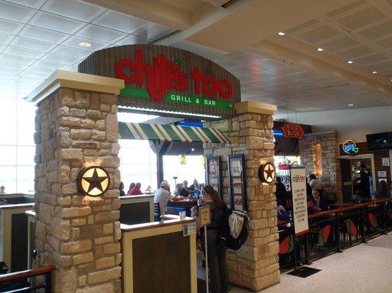 Chili S Too Houston International Airprt Restaurant