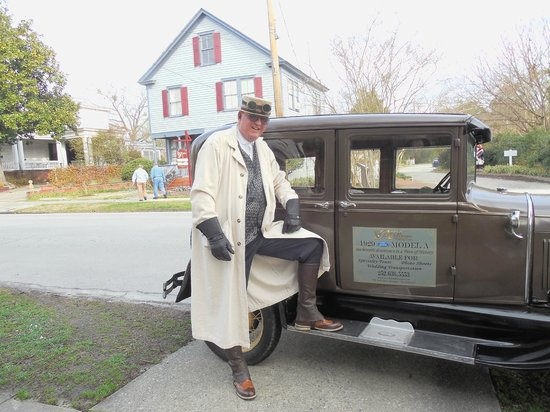 The Aerie Bed and Breakfast: Michael and his Model A