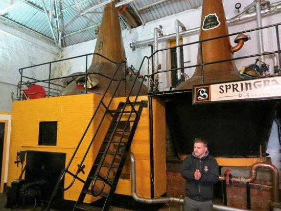Springbank Distillery: Stills