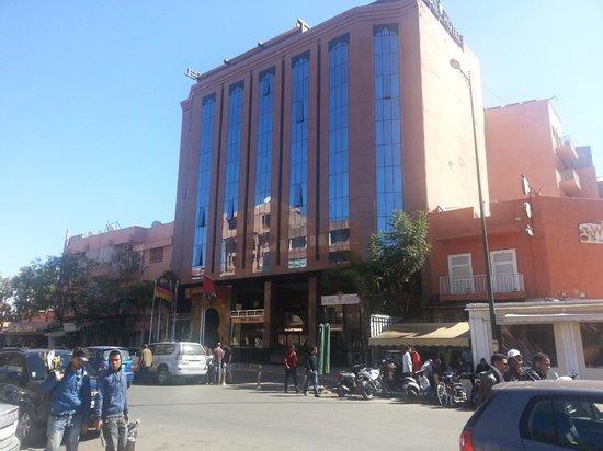Hotel Almas : fachada